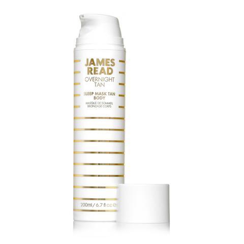JAMES READ | Ночная маска для тела уход и загар, (200 мл)