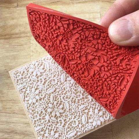 Текстурный лист Кружево для изготовления мыла