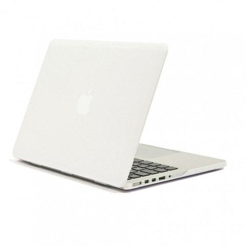 Накладка пластик MacBook Pro 13,3 /matte white/ DDC