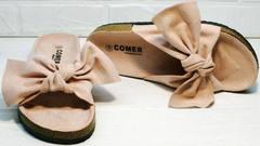 Удобные сандалии женские розовые Comer SAR-15 Pink.