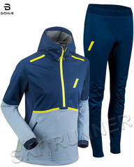 Элитный беговой костюм Bjorn Daehlie Balance Estate Blue Женский