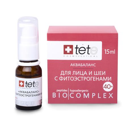 Биокомплекс для лица, шеи, декольте с фитоэстрогенами.Аквабаланс. Tete 15 мл