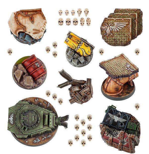 Warhammer 40,000 Hero Bases. Все базы