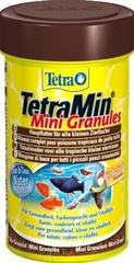 Корм для молоди и мелких рыб, TetraMin Mini Granules, в mini гранулах, 100 мл
