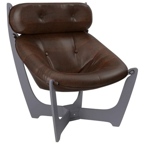 Кресло для отдыха Комфорт Модель 11 маренго/Antik Crocodile