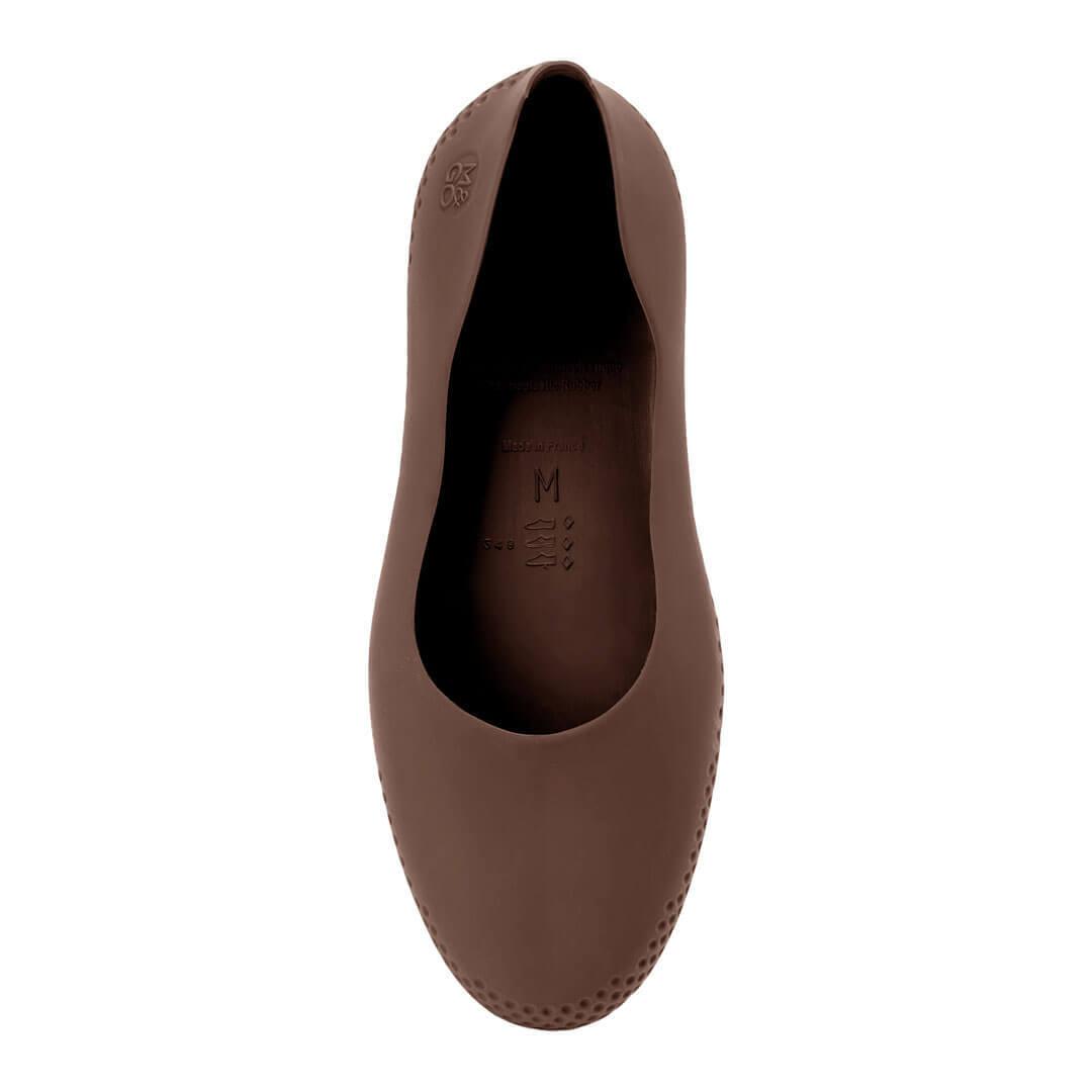 Галоши Mouillere коричневые