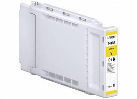 Картридж EPSON T41R желтый для SC-T3400, SC-T3400N, SC-T5400 100мл