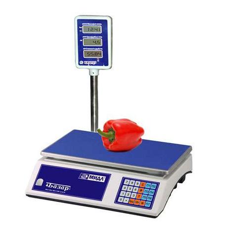 Весы торговые электронные МИДЛ МТ 6 МГЖА (1/2; 230x340)