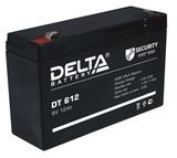 Аккумулятор Delta DT 612 ( 6V 12Ah / 6В 12Ач ) - фотография