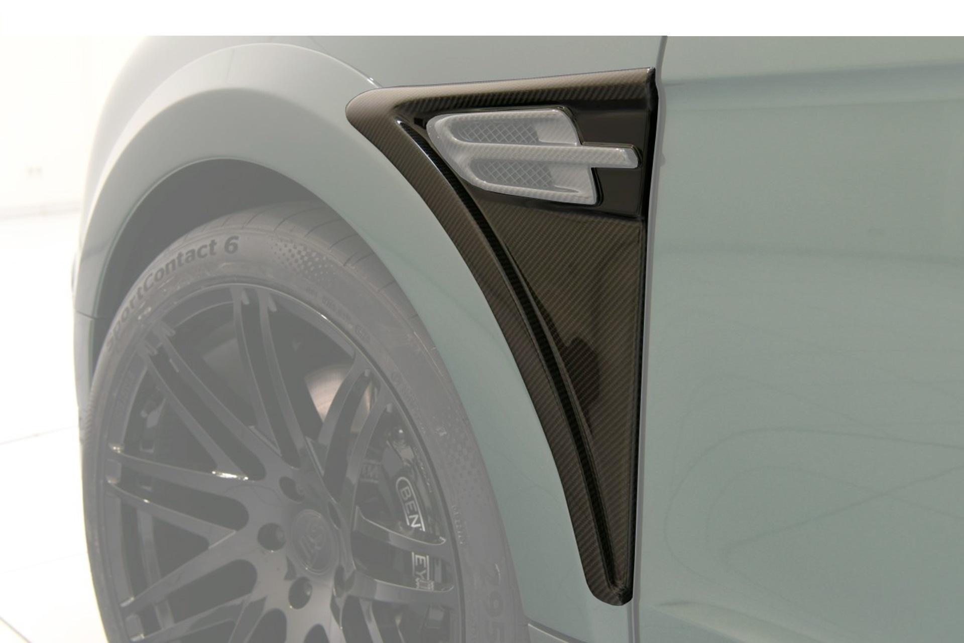 Карбоновые накладки на крылья Startech Style для Bentley Bentayga