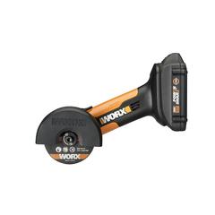 Угловая шлифмашина аккумуляторная WORX WX801, 20В, 76 мм, 1*2,0Ач, кейс