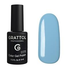 Grattol, Гель-лак 015, Baby Blue, 9 мл