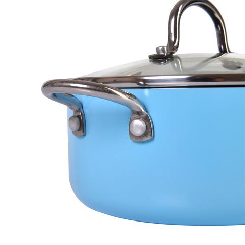 4258 FISSMAN Mini chef Кастрюля 18 см / 1,8 л с крышкой,  купить