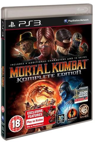 Mortal Kombat Komplete Edition (PS3, русская документация)