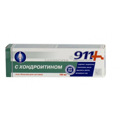 911 chondroitin gel balsam d / joints 100g
