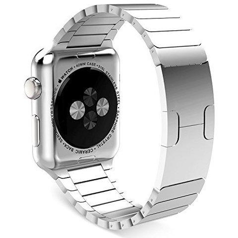 Ремешок Apple watch 42/44mm Link Bracelet /silver/