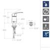 Смеситель встроенный для биде NEW FLY SA572301 - фото №2