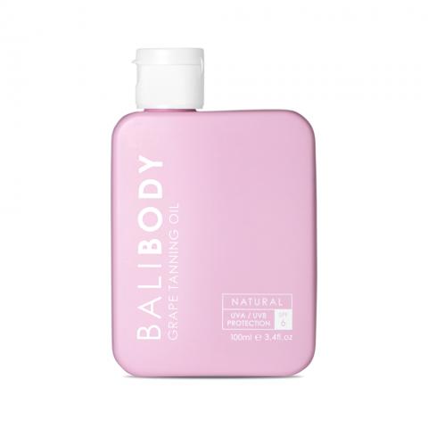 Масло для загара BaliBody Grape Tanning Oil spf 6 виноград 100 мл