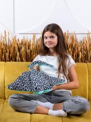 Мягкая игрушка-подушка Gekoko «Скат Хвостат» 3