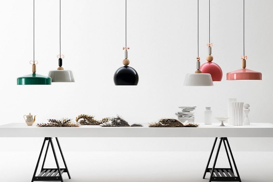 Подвесной светильник копия Bon Ton N2D1 by YUUE Design Studio (розовый)