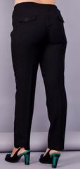 Елія. Класичні батальні жіночі брюки. Чорний.