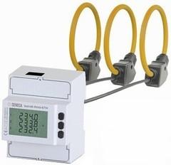 S604E-ROG-MOD-30 Счетчик энергии, Ragowski Комплект: измеритель мощности + 3 петли Роговского L = 30см D = 9,5см, также имеет RS485