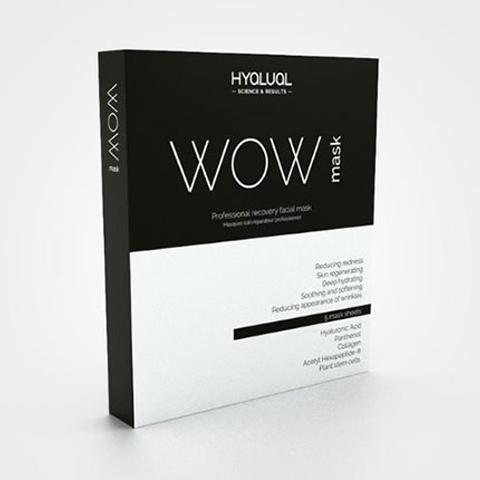 Hyalual Wow: Профессиональная восстанавливающая маска для лица (Hyalual WOW-mask)