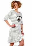 Женская сорочка свободного кроя Pepita