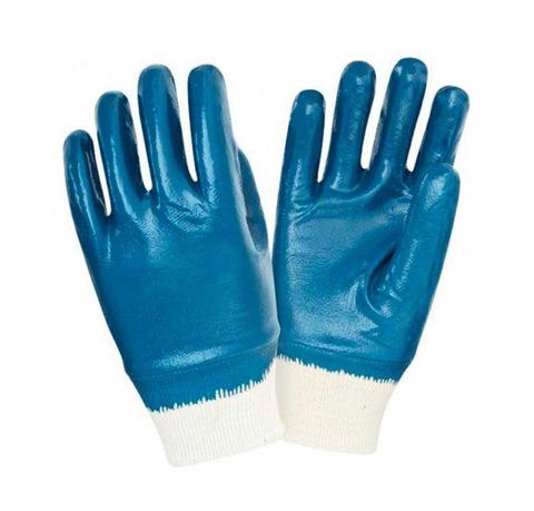 Перчатки нитриловые Манжета (полное покрытие)