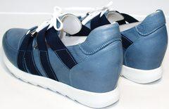 Сникерсы обувь женская Ledy West 1484 115 Blue.