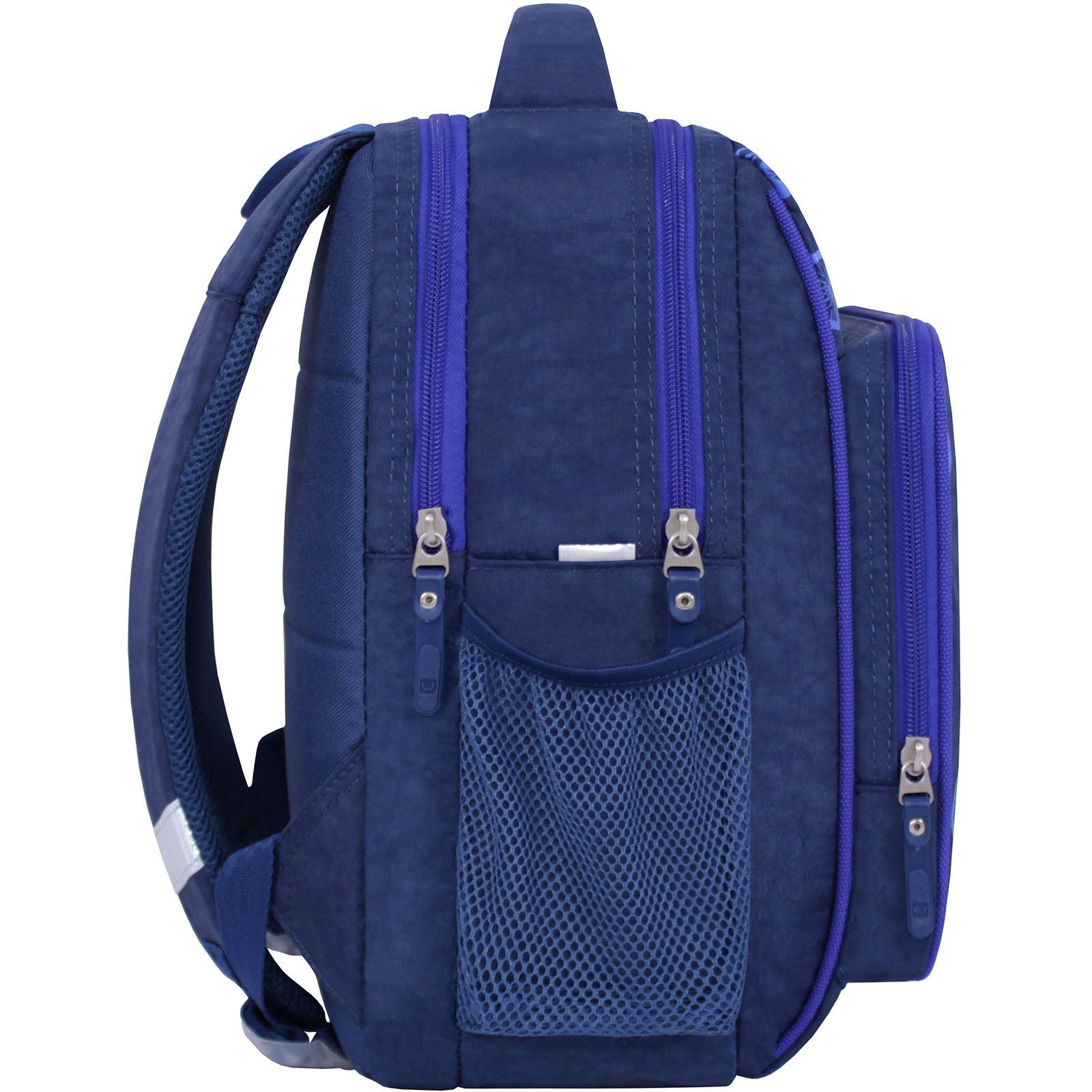 Рюкзак школьный Bagland Школьник 8 л. 225 синий 555 (00112702) фото 2