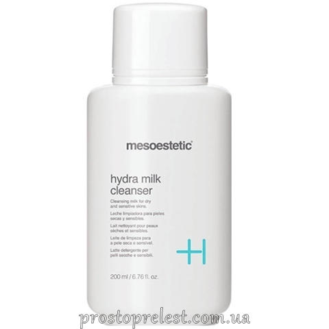 Mesoestetic Hydra Milk Cleanser - Очищуюче гідро-молочко для обличчя
