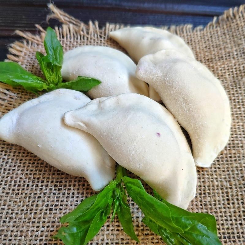 Фотография Вареники c картофелем и грибами / 500 г купить в магазине Афлора