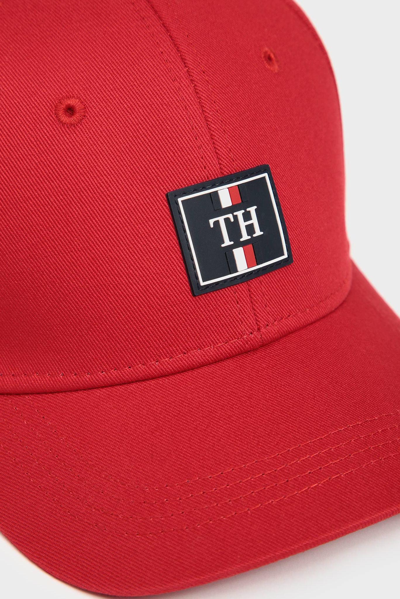 Мужская красная кепка TH ELEVATED Tommy Hilfiger