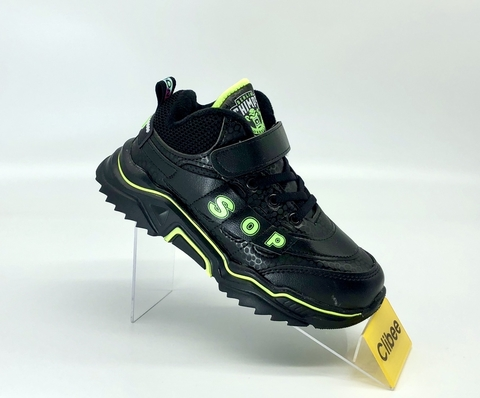 Clibee L123 Black/Green 32-37