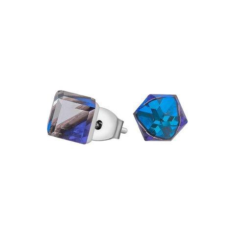 Пусеты Crystal Bermudsa Blue SWE1127 CBB S