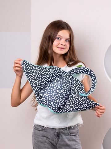 Подушка-игрушка «Скат Хвостат»-2