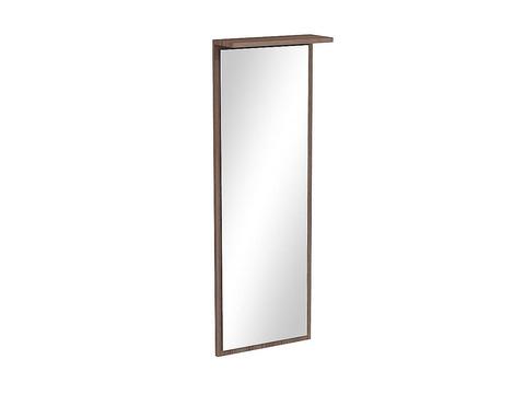 Зеркало настенное Машенька ЗР-100 Браво Мебель лдсп стекло ясень шимо темный