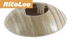 Обвод для труб Rico Leo Дуб беленый d- 16 мм (2шт)