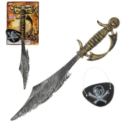 Купить Игровой набор «Пират»: сабля, повязка в Магазине тельняшек