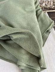 Футер 3-х ниточный, петля, Зеленая фисташка