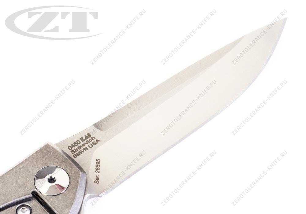 Нож Zero Tolerance 0450 Sinkevich - фотография