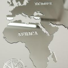 Зеркальная карта мира фото 3