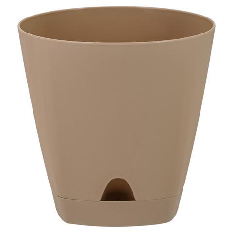 Горшок для цветов AMSTERDAM D 250 8 л Молочный Шоколад ING6202МШОК