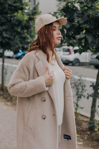 Пальто женское длинное
