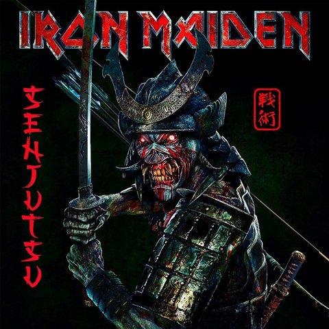 Виниловая пластинка. Iron Maiden — Senjutsu