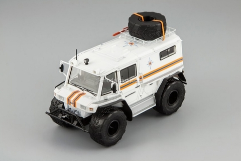 ATV biaxial Petrovich-204-50 Ministry of Emergency Situations DIP 1:43