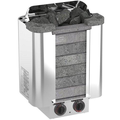 Электрическая печь SAWO CUMULUS CML-80NB-P (8 кВт, встроенный пульт, облицовка – талькохлорит)