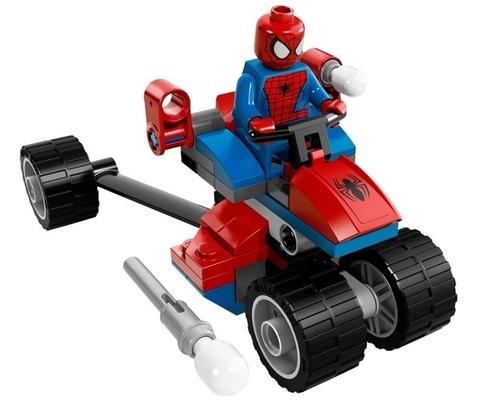 LEGO Super Heroes: Спайдер-Трайк против Электро 76014 — Spider-Trike vs. Electro — Лего Супергерои Марвел