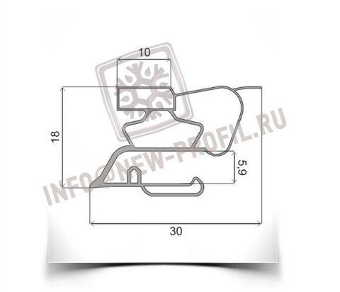 Уплотнитель для холодильника  Индезит C132NFG м.к 655*570 мм(022)